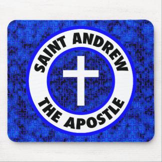 St Andrew el apóstol Alfombrillas De Ratón