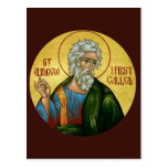 St Andrew el primer llamó a Prayer Card Tarjeta Postal