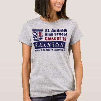St. Andrew High School Class of 1979 Reunion T-Shirt