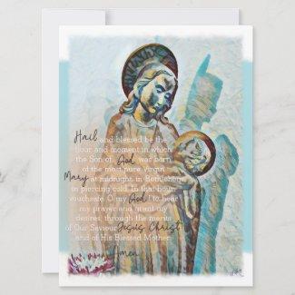 St. Andrew Novena Card Brown