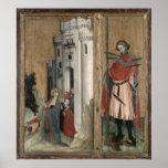 St Andrew que persigue a demonios de la ciudad Posters