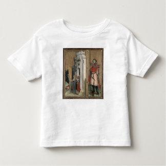 St Andrew que persigue a demonios de la ciudad Playeras