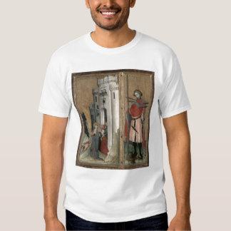 St Andrew que persigue a demonios de la ciudad Polera
