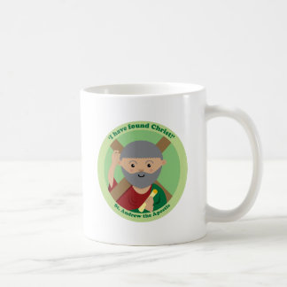 St. Andrew the Apostle Classic White Coffee Mug