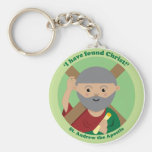 St. Andrew the Apostle Keychains