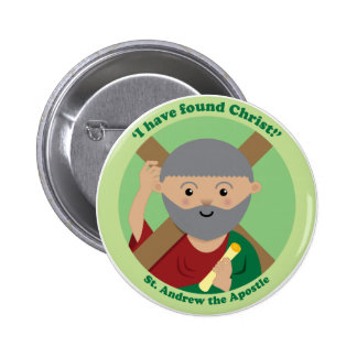 St. Andrew the Apostle Pinback Button