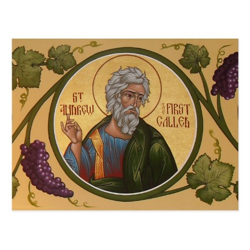 St. Andrew the First-Called Prayer Card Post Cards
