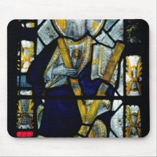 St. Andrew with Saltire Cross, British Mouse Pad