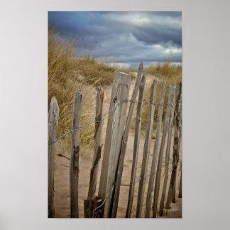 St. Andrews Beach #1 [Print] Poster