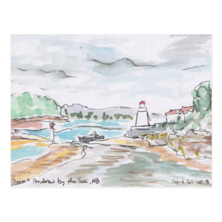 St Andrews by-the-Sea, New Brunswick Postcard