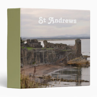 St Andrew's Castle Ruins 3 Ring Binder