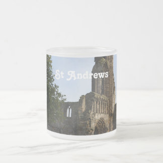 St Andrew's Cathedral 10 Oz Frosted Glass Coffee Mug