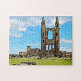 St Andrews cathedral Scotland Jigsaw Puzzle