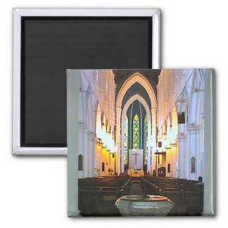 St Andrew's Cathedral, Singapore Fridge Magnet