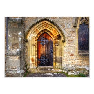 St Andrews Church, Aysgarth 5x7 Paper Invitation Card