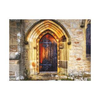 St Andrews Church Aysgarth Gallery Wrap Canvas