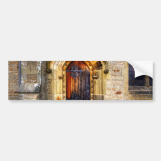 St Andrews Church, Aysgarth Car Bumper Sticker