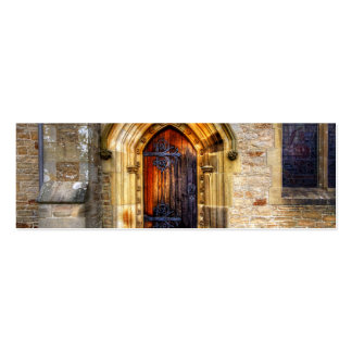 St Andrews Church, Aysgarth Double-Sided Mini Business Cards (Pack Of 20)