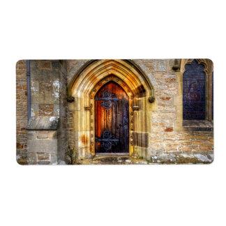 St Andrews Church, Aysgarth Label