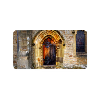 St Andrews Church, Aysgarth Address Label