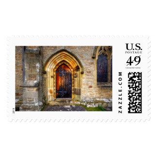 St Andrews Church, Aysgarth Postage Stamp