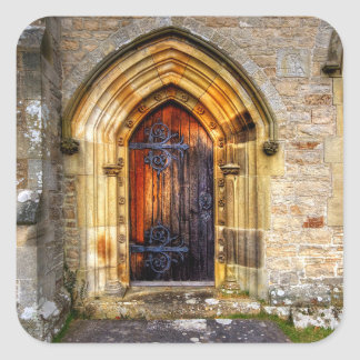 St Andrews Church, Aysgarth Square Sticker