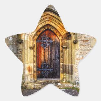 St Andrews Church, Aysgarth Star Sticker
