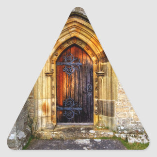St Andrews Church, Aysgarth Triangle Sticker