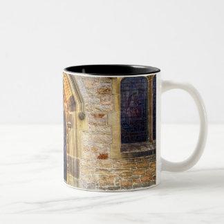 St Andrews Church, Aysgarth Two-Tone Coffee Mug