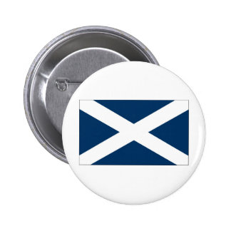 St Andrews Cross Button