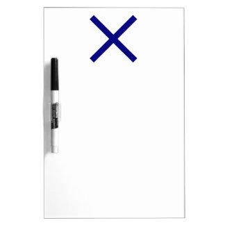 St. Andrew's Cross Dry-Erase Board