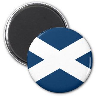 St Andrews Cross Magnet