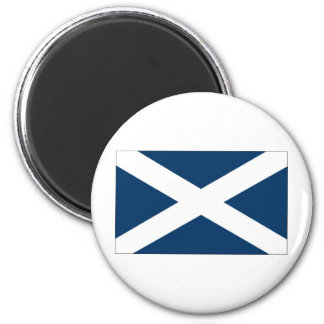 St Andrews Cross 2 Inch Round Magnet