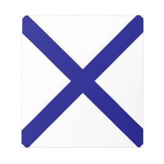 St. Andrew's Cross Notepad