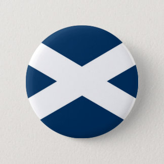 St Andrews Cross Pinback Button