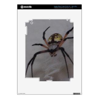 St. Andrews Cross Spider iPad 3 Decal