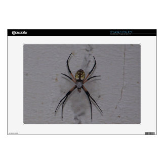 St. Andrews Cross Spider Decal For Laptop