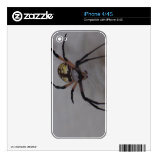 St. Andrews Cross Spider iPhone 4 Skins