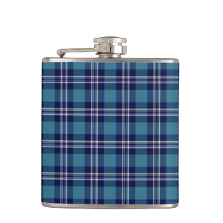 St Andrews District Tartan Hip Flask