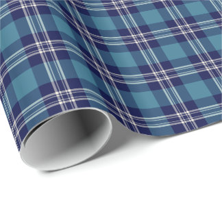St Andrews District Tartan Wrapping Paper