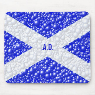 St Andrews Flag Bubble Textured Mouse Pad