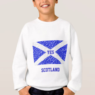 St Andrews Flag Bubble Textured Sweatshirt