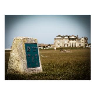 St Andrews Golf Course Postcard