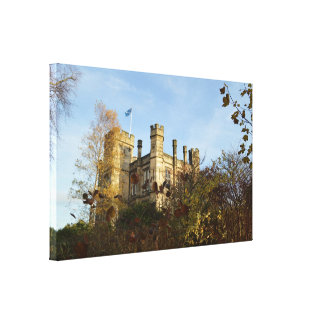 St Andrews Museum In Autumn Canvas Print