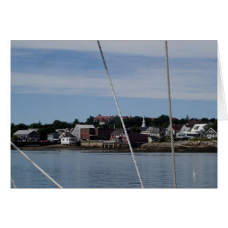 St. Andrews, NB from the water Card