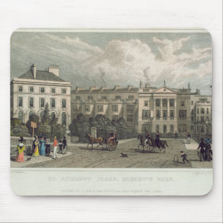 St. Andrews Place, Regents Park, 1828 Mouse Pad