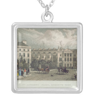 St. Andrews Place, Regents Park, 1828 Silver Plated Necklace