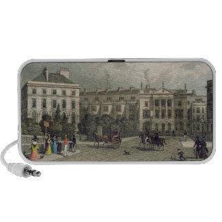 St. Andrews Place, Regents Park, 1828 Notebook Speakers
