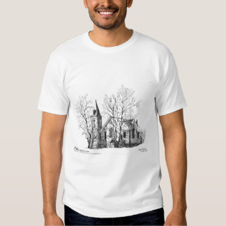 St. Andrews Presbyterian Church Pen and Ink T Shirt