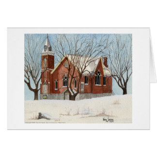 St. Andrews Presbyterian Church, Watercolor Card